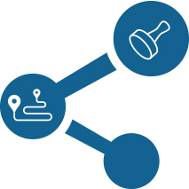 柔軟な承認ルート(経路)設定と承認者指定